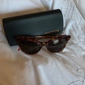Wildfox Le Femme Cat Eye Sunglasses